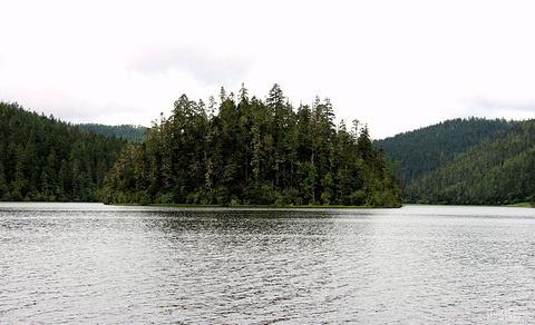 湖心岛旅游景点攻略图