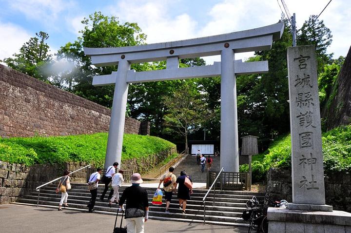 """""""伊达政宗公(1567至1636):仙台..._仙台城遗址""""的评论图片"""