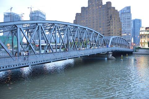 外白渡桥旅游景点攻略图