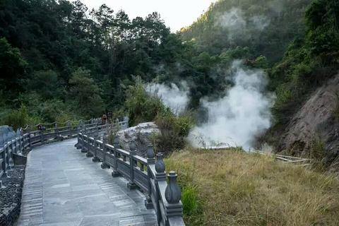 武山温泉旅游景点攻略图