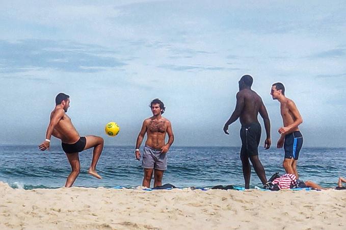 伊帕内玛海滩图片