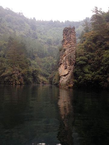 """""""景点都是纯天然的自然生态,几乎没有参杂太多人为因素。好在此景区不是很大,2个多小时就能游玩_宝峰湖景区""""的评论图片"""