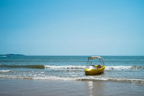 黄岛金沙滩的图片