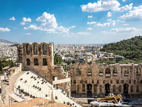 雅典卫城旅游景点图片
