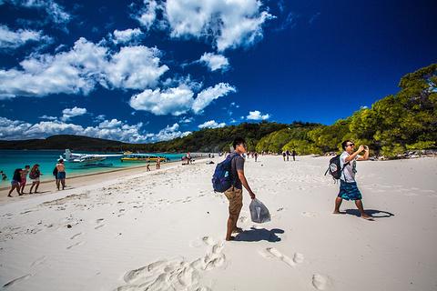 白天堂海滩旅游景点攻略图