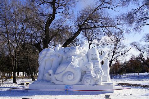 太阳岛雪博会旅游景点攻略图
