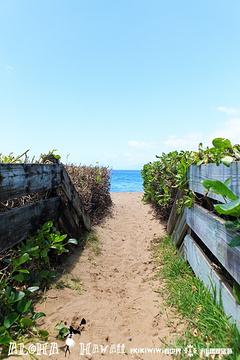 卡阿纳帕利海滩旅游景点攻略图