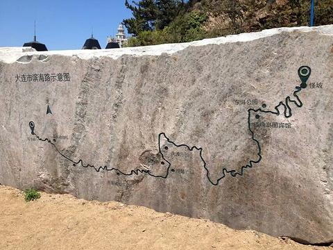 滨海路旅游景点攻略图