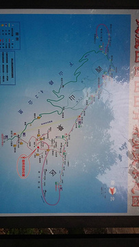 凤凰山旅游景点攻略图