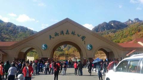 天桥沟国家森林公园旅游景点攻略图
