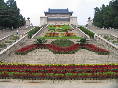 中山陵园风景区旅游景点图片
