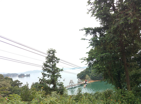 万绿湖旅游景点攻略图