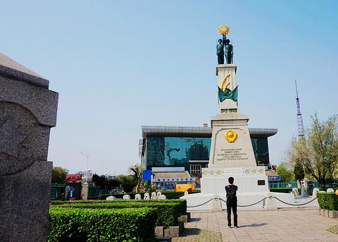 苏联红军烈士纪念碑旅游景点攻略图