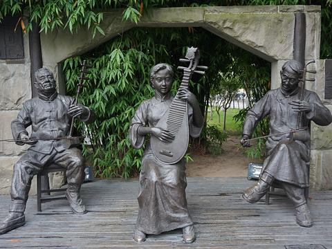 汉口江滩公园旅游景点图片