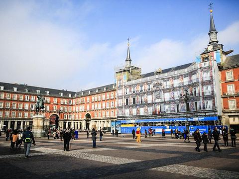 马德里市政广场旅游景点图片