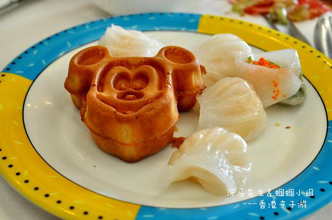 迪士尼乐园翠乐庭餐厅自助早餐图片