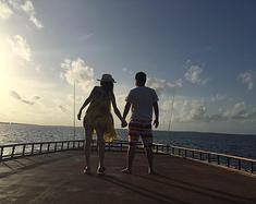 晒太阳、钓鱼、满月岛的蜜月之旅