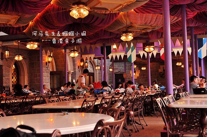 迪士尼乐园内简餐图片