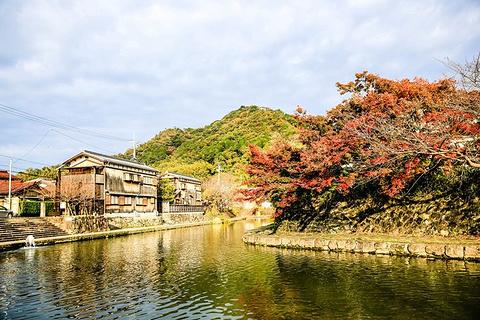 八幡堀旅游景点攻略图
