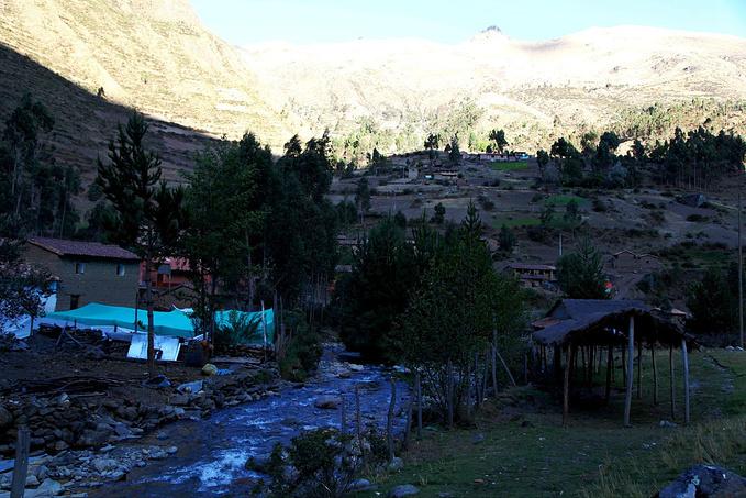 高原上的村子—Huilloc图片