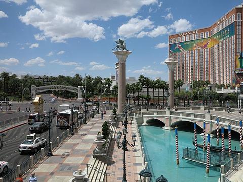 拉斯维加斯威尼斯人度假酒店旅游景点图片