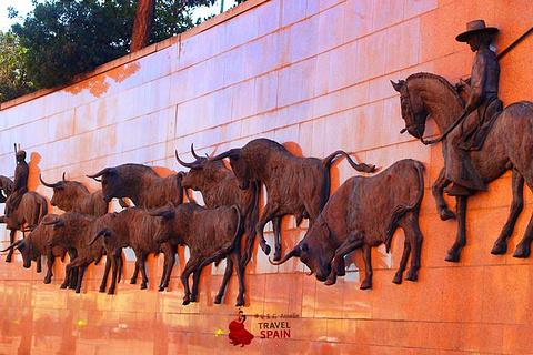 拉斯班塔斯斗牛场旅游景点攻略图