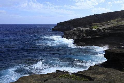 哈罗那喷潮口(Halona blow hole)旅游景点攻略图