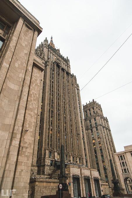 外交部大楼图片