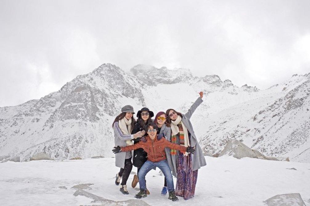 从苍茫雪山到香格里拉