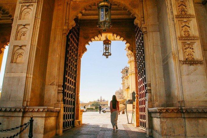乌代布尔城市宫殿图片