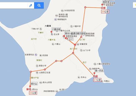 六鳌古城旅游景点攻略图