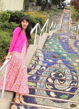 第十六街瓷砖阶梯旅游景点攻略图
