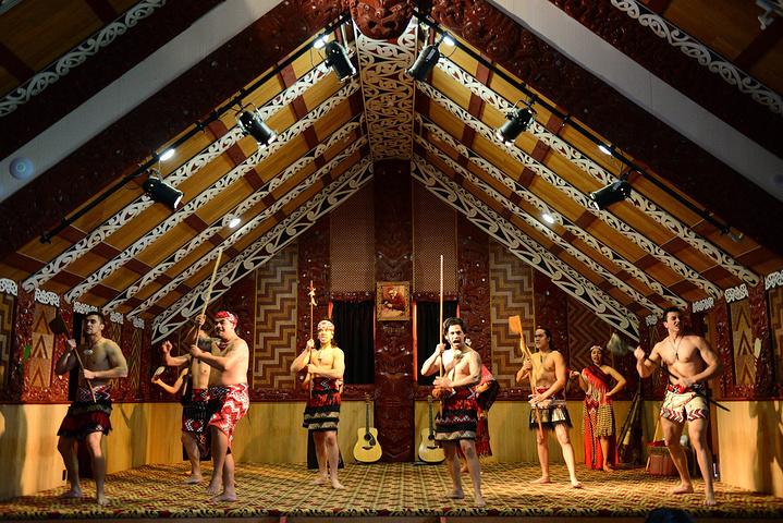 """""""早餐后去参观了毛利文化村。_奥希内穆图毛利文化村""""的评论图片"""