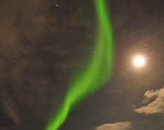 自驾去世界最北端追寻极光