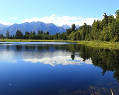 沿着新西兰南岛吹吹风