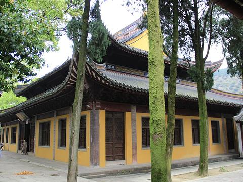 阿育王寺旅游景点图片