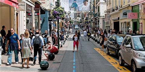 梅纳迪耶大街旅游景点攻略图