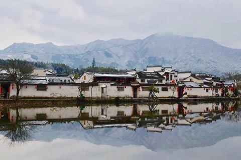宏村景区旅游景点攻略图