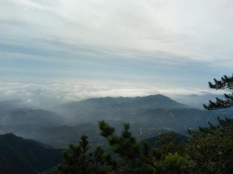 军峰山旅游景点攻略图