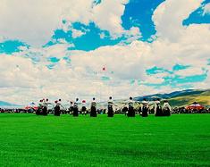 西藏拉萨——去大草原领略赛马节的威武壮观