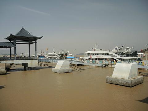 普陀山码头旅游景点图片