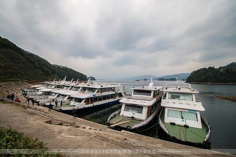 千岛湖东南湖区景区旅游景点攻略图