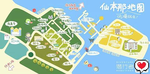 仙本那旅游景点攻略图