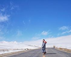 【终于亲眼看见你,羊湖】在青藏线行驶1952公里,终于来到神秘西藏