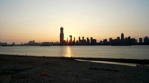汉口江滩旅游景点攻略图