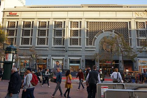 西田旧金山购物中心旅游景点攻略图