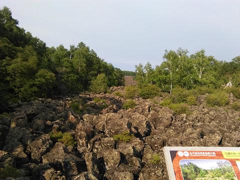 五大连池风景区旅游景点攻略图