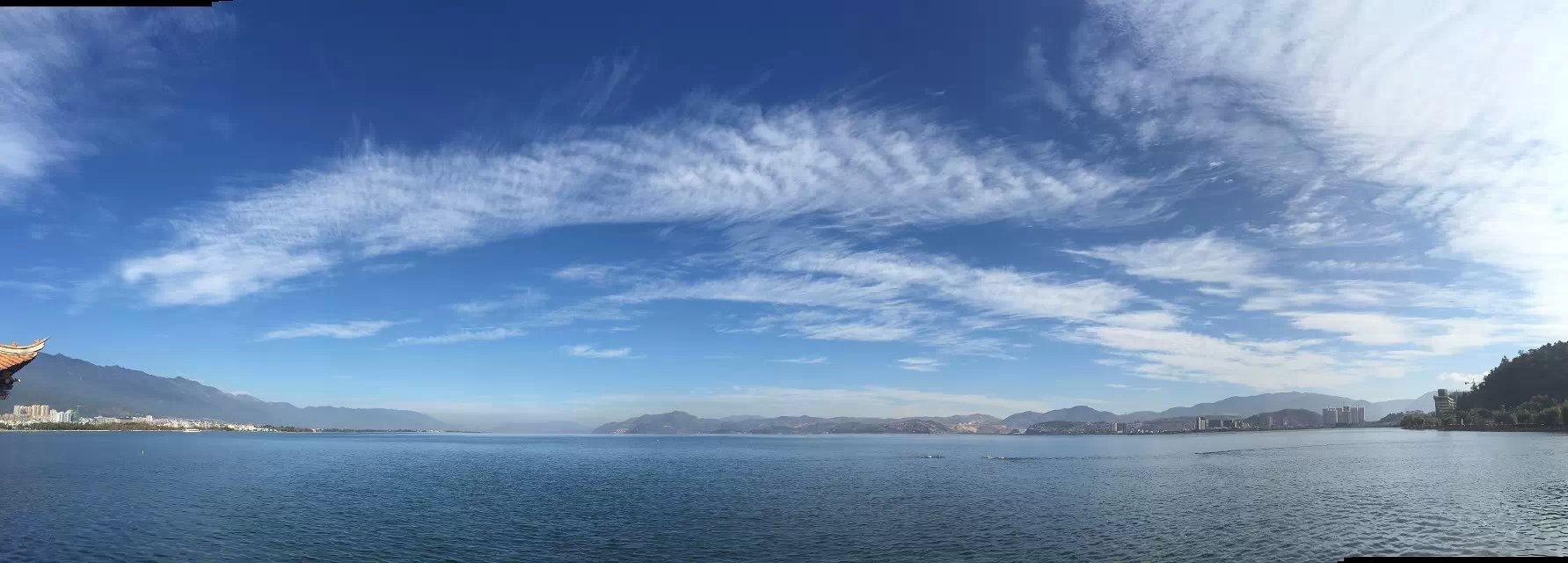 洱海边的美食美景