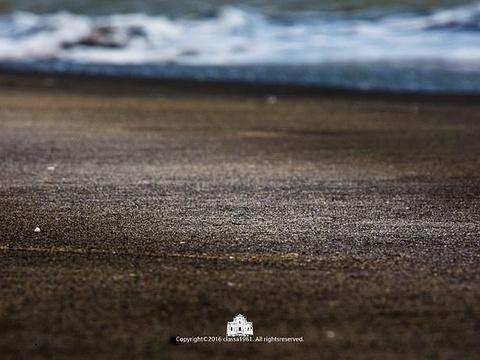 黑沙海滩旅游景点图片