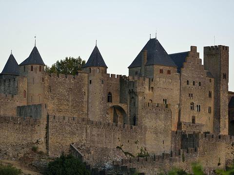 卡尔卡松城堡旅游景点图片